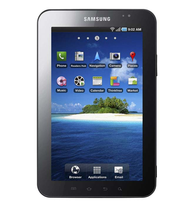 Samsung Galaxy Tab Now Available In The UK