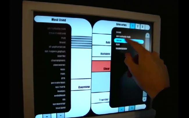 Star Trek Inspired Kitchen Computer