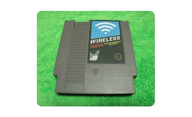 wireless router nes cartridge