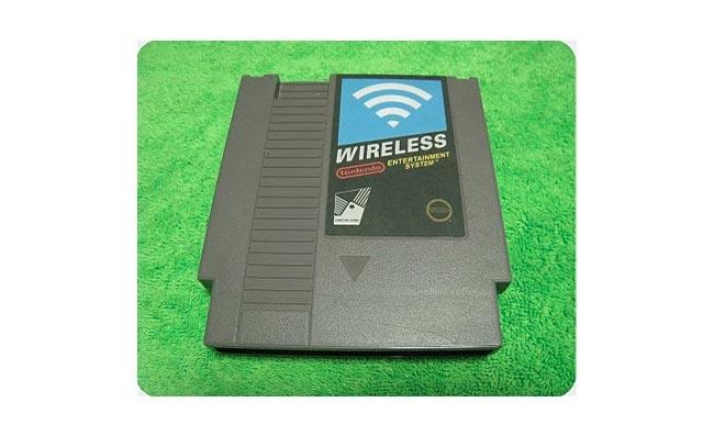 wireless router nes cartridge