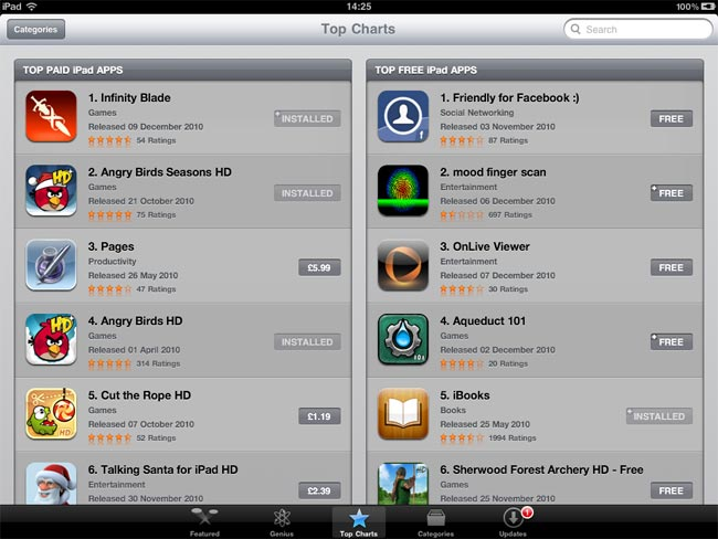 Best iPhone And iPad Apps Of 2010