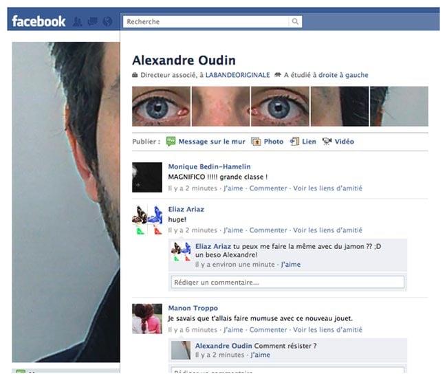 French artist Alexandre Oudin