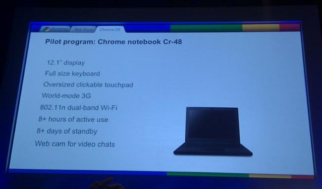 Google Chrome OS Pilot Program