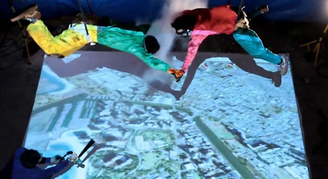 Google Earth Skydiving