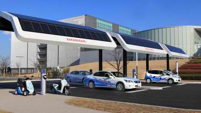 Honda Solar EV Station 02