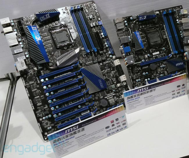 MSI Unveil Sandy Bridge Motherboard