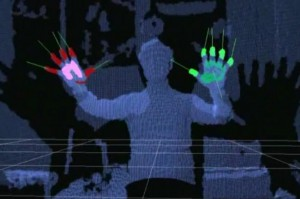 Minorty Report Sytle Microsoft Kinect Hack