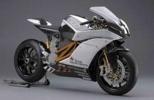 Mission Motors Unveils Snazzy Electric Race Bike