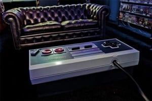 Amazing NES Controller Coffee Table (Video)