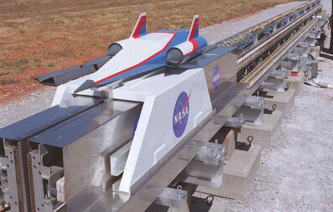 Nasa Rail Gun