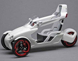 This Sexy German Concept Trike Could Be A Robot In Disguise