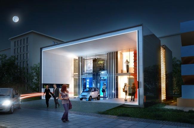 Plus Energy House