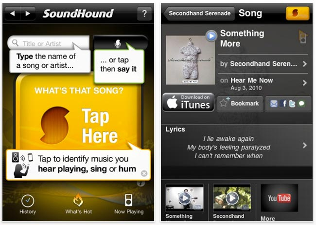 SoundHound Music Recognition Now Allows Unlimited Song Id's