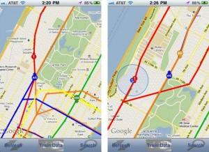 SubwayArrival iPhone App Live-Tracks NYC Subway Trains