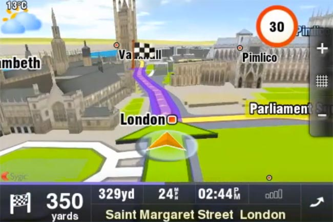 Sygic Mobile Maps