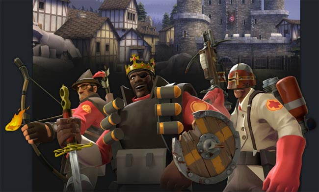 Team Fortress 2 Medieval Christmas