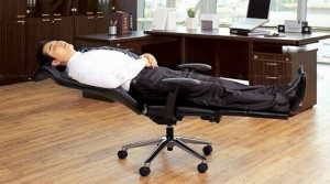 Thanko Anychair Lets You Doze Off At Work