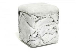 Trash Cube Seat Looks Real Nice