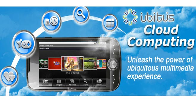 Ubitus Cloud Gaming