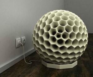 Automated Dust Ball Vacuum Cleaner Looks Alien