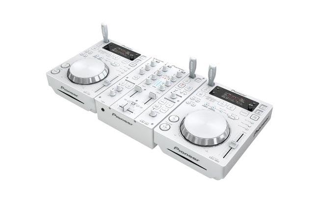 White Pioneer DJ Mixers CDJ-350 DJM-350