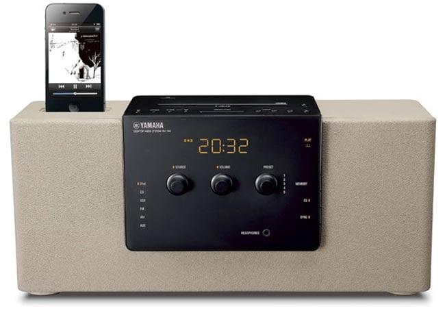 yamaha tsx 140 iphone dock alarm clock. Black Bedroom Furniture Sets. Home Design Ideas