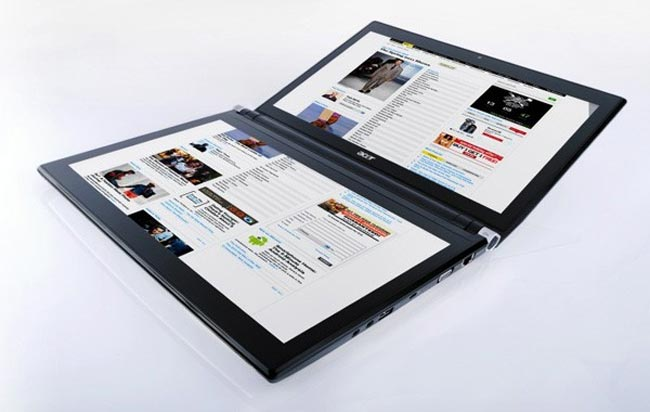 Acer Iconia Dual Screen Laptop