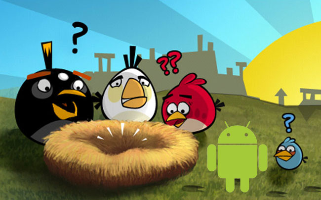 Anrgy Birds Android