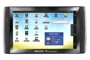 Archos Android Tablets Get Android 2.2 Froyo Update