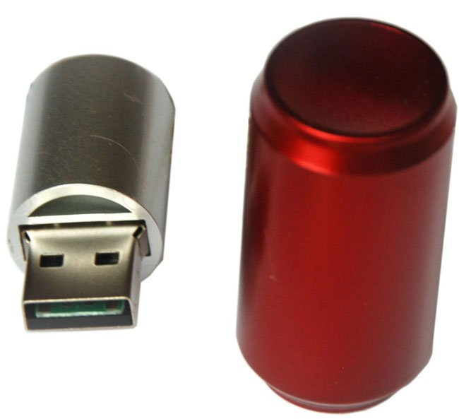 Pop Can Flash Drive