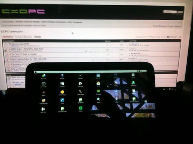 ExoPC Tablet Hacked To Run Android 2.2