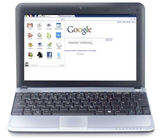 Google Chrome Netbook