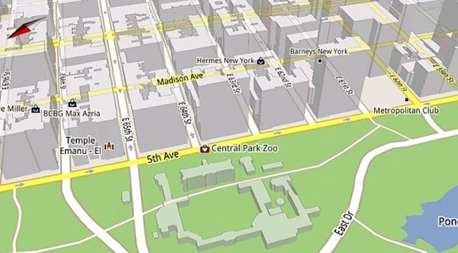 Google Maps 5.0 For Mobile