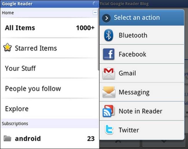Google Reader App