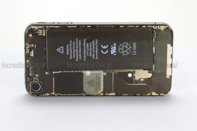 iPhone 4 Teardown Decal