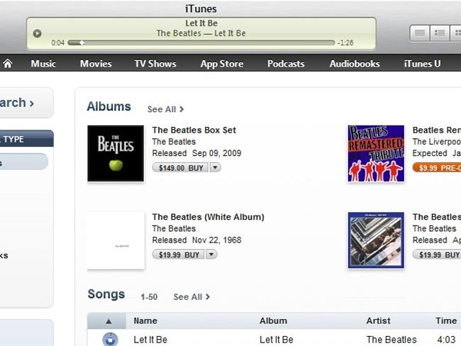iTunes 90 Second Preview