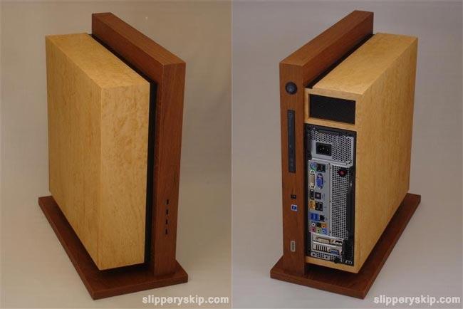 Level Twelve Wooden PC By Jeffrey Stephenson