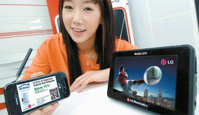 LG To Launch Mobile 3D TV AT CES 2011