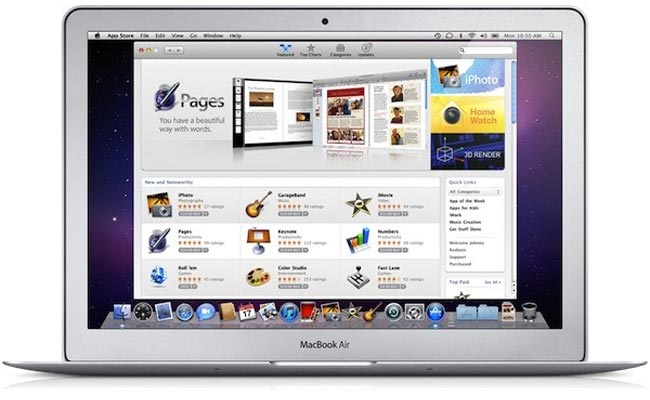 Apple Mac App Store Launches January 6th