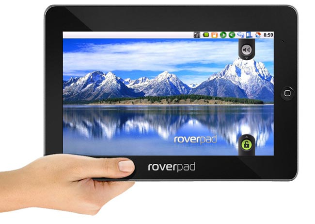 RoverPad 10 Inch Android Tablet