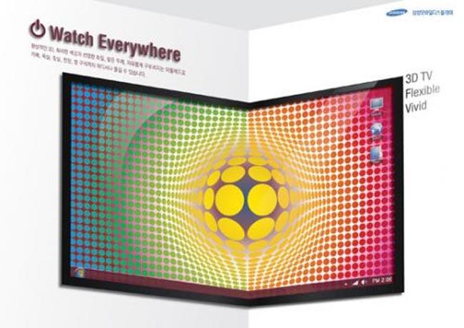 Samsung's Foldable 3D OLED TV