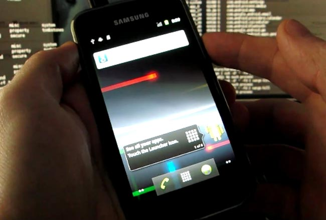 Android 2.3 Gingerbread Ported To Samsung Galaxy S