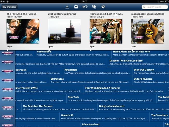 Sky+ iPhone App Now Works With The iPad