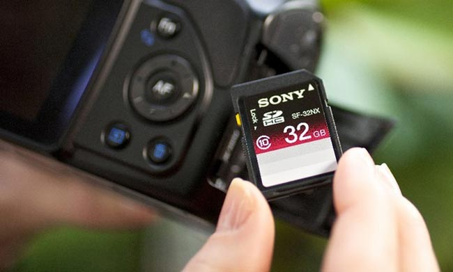 Sony Launches New SD Cards
