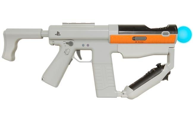 Sony Playstation Move Sharp Shooter Gun Announced
