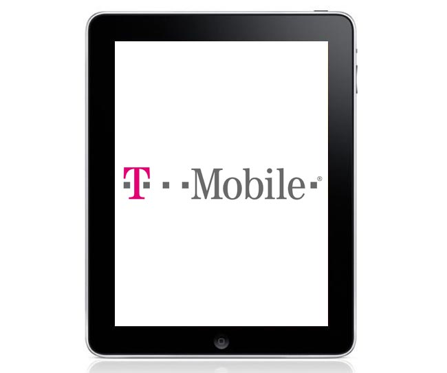 T-Mobile Subsidised iPad