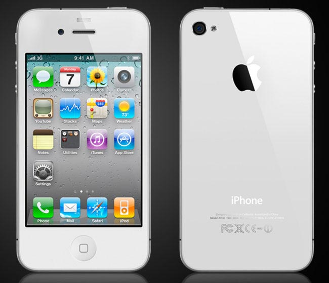 apple white iphone 5. It looks like the white iPhone