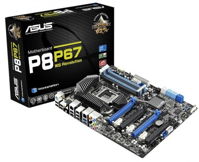 ASUS P8P67 WS Revolution