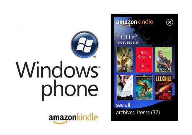 Amazon Kindle WP7