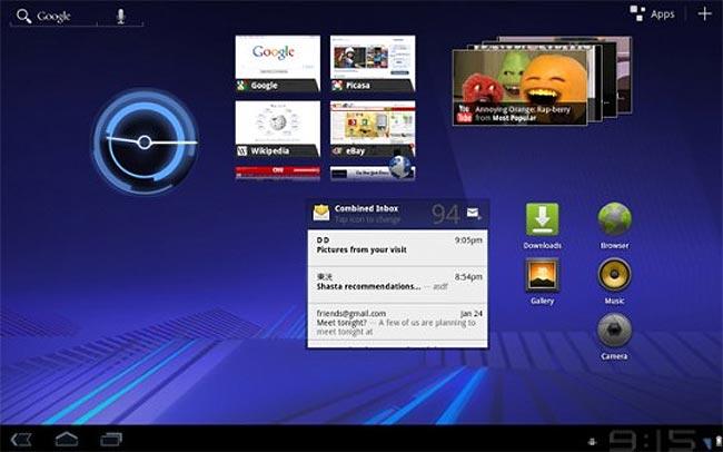 Android 3.0 Honeycomb SDK